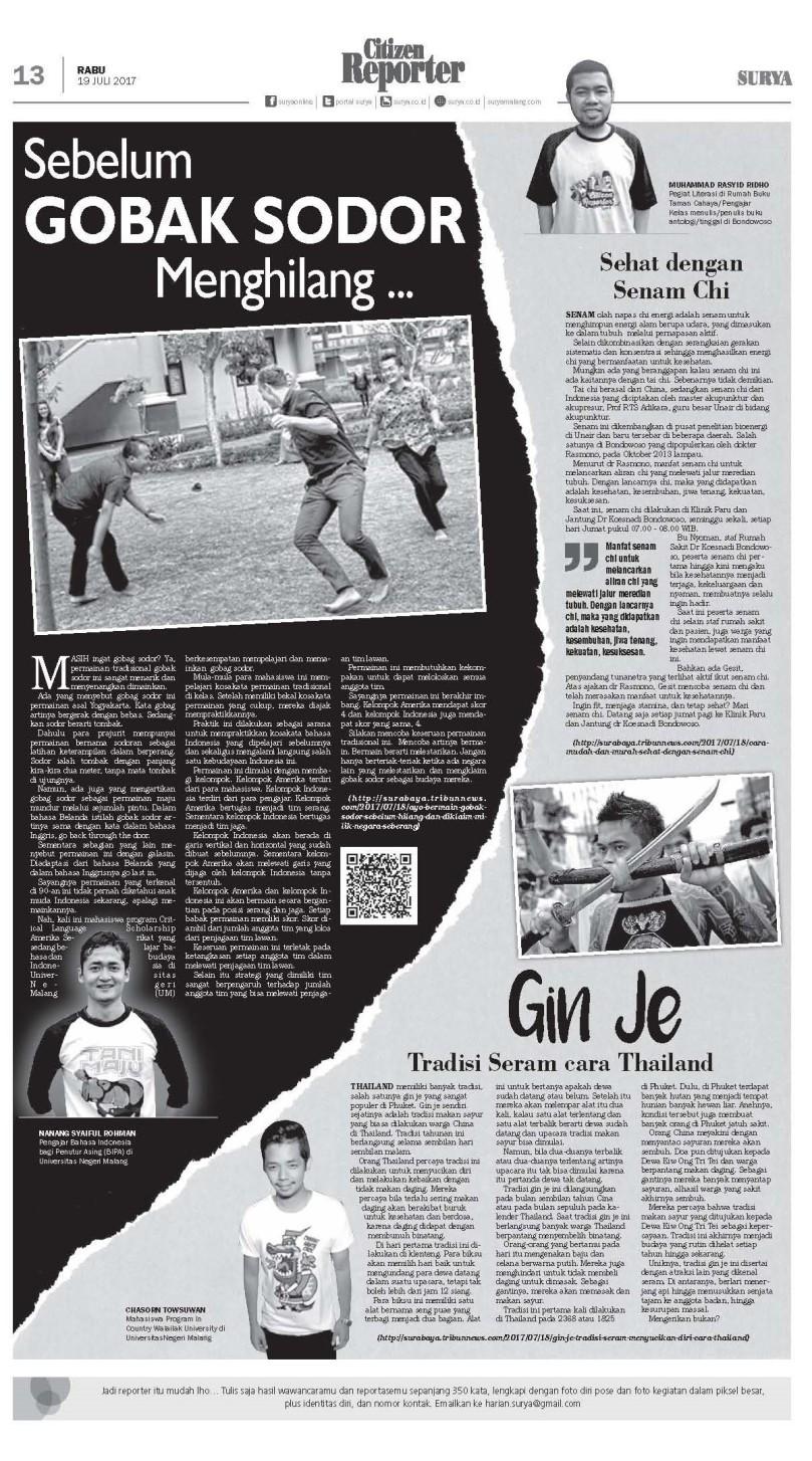Senam Chi di Surya 19 Juli 2017 1 halaman
